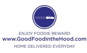 Refer friends for tech jobs, make a difference locally, and enjoy good food in the hood delivered home #goodfoodinthehood #refertechfriend #enjoyrewards www.GoodFoodintheHood.com