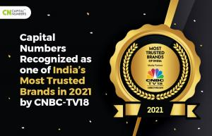 Capital Numbers Awarded with India's Most Trusted Brand 2021 by CNBC-TV18