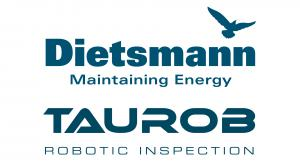 Dietsmann Maintaining Energy logo and Taurob Robotic Inspection logo