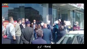 4 April 2021 - Karaj - Enraged Retirees Protest in 23 cities, Iran - 1