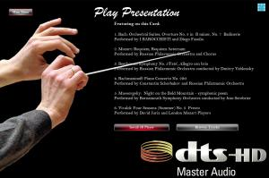 Presentation Page - Menu Design