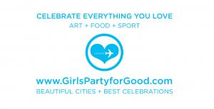 Join the Club Girls Party for Good Travel to Celebrate Everything You Love Art + Food + Sport #girlspartyforgood #escapetocelebrate #luxurytravel www.GirlsPartyforGood.com