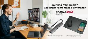 """Whether you're working from home or returning to work in your offices or on the road, you can rely on Mobile Edge to help you store, protect, and transport your gear safely"