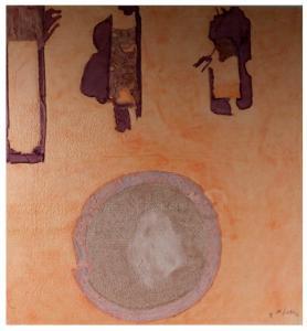 Mixografia on handmade paper by Helen Frankenthaler