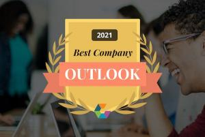 Comparably 2021 Best Company Outlook Award