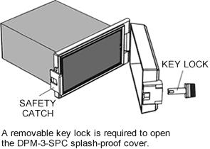 DPM-3-SPC Splash Proof Cover Specifications