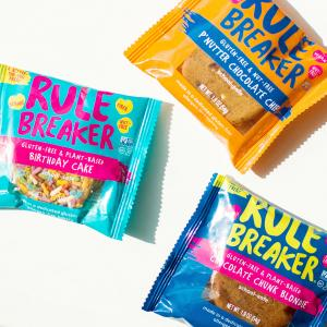 The original bean-based brownies and blondies know today as Rule Breaker Snacks were baked right in the home kitchen of founder Nancy Kalish, a health coach and former health journalist with a serious sweet tooth looking for better-tasting, better-for-you