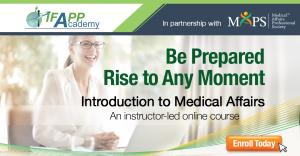Introduction to medical affairs in medicines development