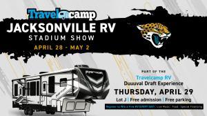Duuuval Travelcamp Draft Party RV Stadium Show