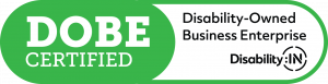 DOBE certification logo