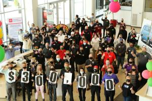 Capitol Auto Employees Celebrate $300,000 Donation to United Way of the Mid-Willamette Valley