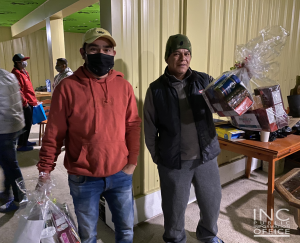 """<img src=""""image4.png"""" alt=""""Immigrant workers in Abbotsford, Canada receiving their care package at Iglesia Ni Cristo (Church Of Christ) event"""" />"""