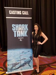 Hunter at Shark Tank casting call March 2018