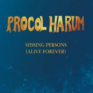Procol Harum - Missing Persons Cover