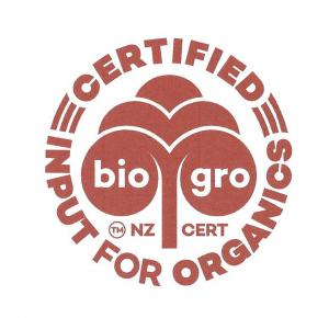 Globally Accepted  Organic Input