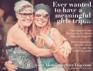 Lovely Girls Party and participate in Recruiting for Good to enjoy exclusive travel and experience the world's best parties #momdaughtertravel #lovelygirlsparty #lovewineweekends www.MomDaughterTrip.com