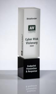 Bitdefender Endpoint Prevention Response Cyber Risk Visionary Trophy 2020