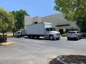 Health Supply Wholesalers PPE Delivery Truck
