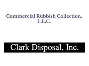 Clark Disposal and Commercial Rubbish Collection