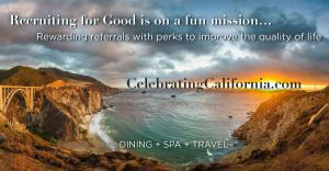 Recruiting for Good is on a fun mission to help improve the qualify in California #rewardingfun #dining #spa #travel www.CelebratingCalifornia.com