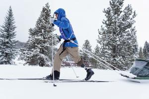 Warfighter Cameron Kerr Cross Country Skiing
