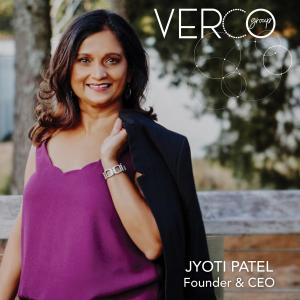 Jyoti Patel, CEO at VERCO Group and Anexa Staffing Solutions