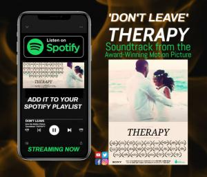 'Music Inspired by Therapy' is available on Spotify and all streaming platforms.