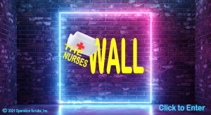 """A grateful public's """"thank you"""" message postings create THE NURSES WALL as virtual gift to the world's 27+ million frontline hero nurses, including the 1,700+ nurses and 20,000+ healthcare workers worldwide who died shielding their patients from the deadl"""