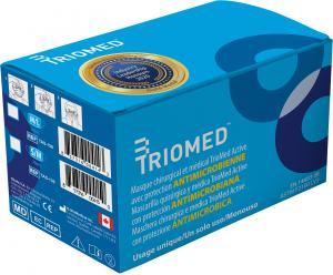 Boîte de 50 masques anti microbiens Triomed