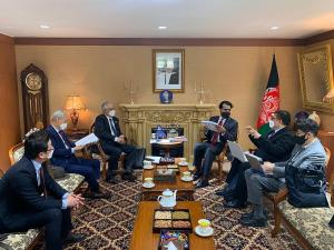 The WTIA Meeting @ The Embassy of The Islamic Republic of Afghanistan