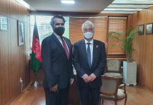 H.E. Abdul Hakim Atarud, the Ambassador of Afghanistan to Korea & Chairman Kim, WTIA Group