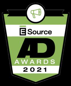 E Source Utility Ad Awards Contest logo