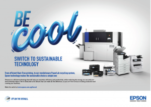 Epson Be Cool, Switch to Sustainable Technology