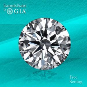 10.88 ct, D/FL, TYPE IIa Round cut GIA Graded Diamond.