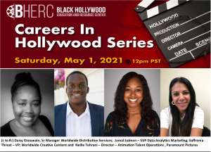 Careers In Hollywood Panelists
