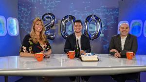 Nikki Noya, Juan Albarran and Bobby Laurie, celebrate 200 episodes of The Jet Set