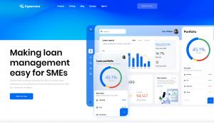 Hypercore property loan management platform for SMEs