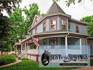 Holden House has received consecutive Best of the Springs awards from the Colorado Springs Gazette