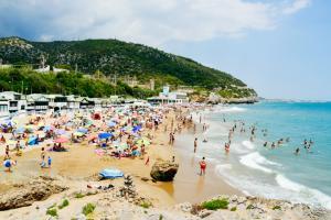 Garraf Beach in Sitges