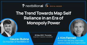 Webinar: The Trend Towards Map Self-Reliance in an Era of Monopoly Power