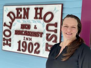Assistant Innkeeper Heather Hidalgo was nominated for Colorado's Top Frontline Workers