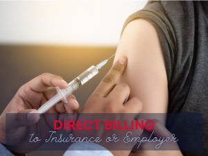 Direct Billing to Insurance or Employer