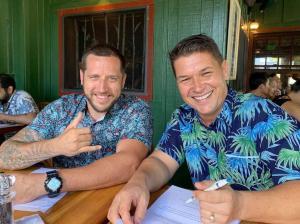 Aloha Junk Man Matt and Luke Honolulu