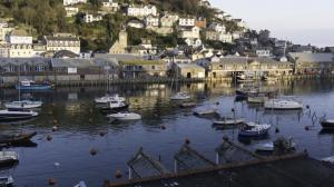 A sunny bright early November day by the side of the Looe rivers and Millpool