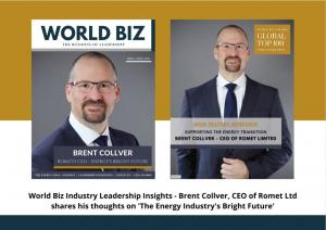 Brent Collver, CEO of Romet Limited Interview card
