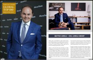 Matteo Lunelli, CEO of Lunelli Group