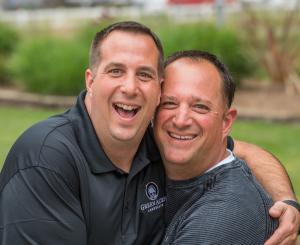 Brothers Rob and Rich Kansky of Green Acres Landscape