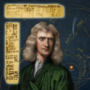 Sir Isaac Newton's handwritten notes and calculations, ideas later formalized in his iconic work, Principia (est. $100,000-$150,000).