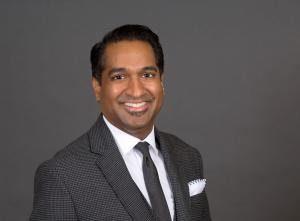 Headshot of Y. Pritham Raj, MD, FACP, Chief Medical Officer Active Recovery TMS