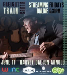 Harvey Dalton Arnold At Freight Train Blues 2021 Poster